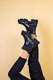 Черевики жіночі на байку чорні, фото 9