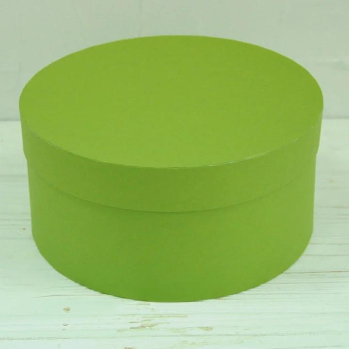 Кругла коробка d= 20 h=10 см оптом