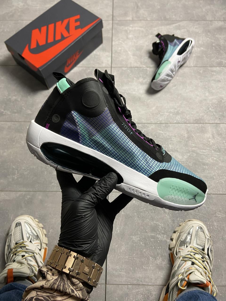 Nike Air Jordan 34 Blue Void (Бирюзовый)