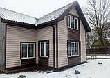 Блок хаус вініловий Фасайдин Грецький горіх 3,66 м сайдинг під колоду (Fasiding), фото 6