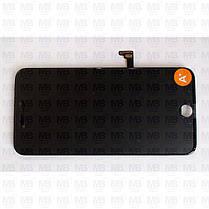 """Дисплей iPhone 8 Plus (5,5"""") Black, оригінал з рамкою (відновлене скло), фото 2"""