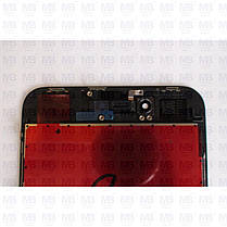 """Дисплей iPhone 8 Plus (5,5"""") Black, оригінал з рамкою (відновлене скло), фото 3"""