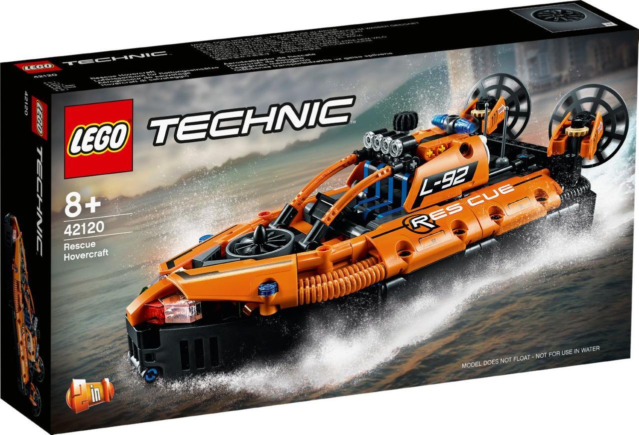 Lego Technic Спасательное судно на воздушной подушке 42120
