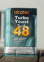 Турбо дріжджі «Alcotec Turbo Yeast Pure 48» Сертифіковані