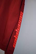 Світшот Adidas YEEZY Calabasas burgundy, фото 3