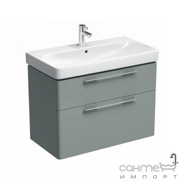 Мебель для ванных комнат и зеркала Kolo Подвесная тумба под раковину 90см Kolo Traffic 89437 белый глянец