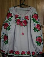 Сорочки вишиванки жіночі ручної роботи 24