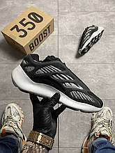 Adidas Yeezy Boost 700 V3 Black and White (Чорний)