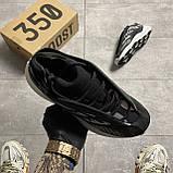 Adidas Yeezy Boost 700 V3 Black and White (Чорний), фото 3