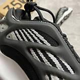 Adidas Yeezy Boost 700 V3 Black and White (Чорний), фото 5