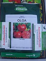 Насіння томату Ольга F1 (Vilmorin) 1.000 насіння — ранній, червоний, детермінантний, круглий, Hazera