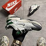 Nike M2K Tekno White Green (Білий), фото 4