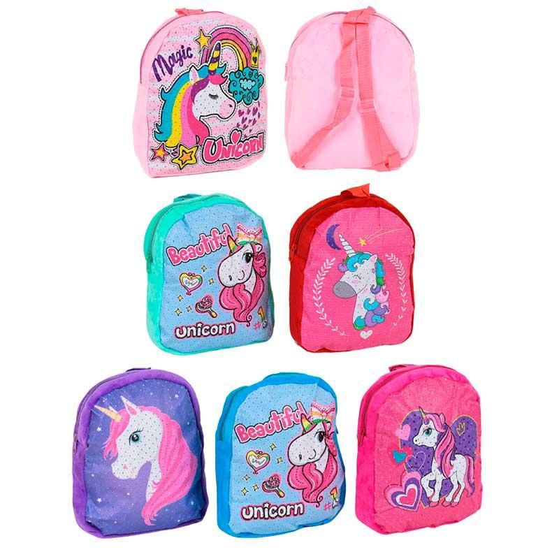 """М'який рюкзак для дівчинки """"Єдиноріг"""" C 37867"""