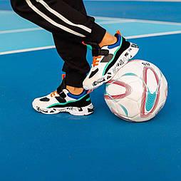 Детские кроссовки на липучках, последний размер 33 - 21 см