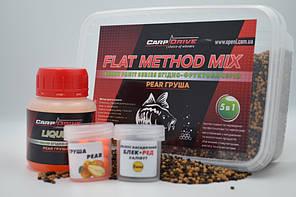 Методный пелети, флет метод мікс Pear (Груша) Carp Drive 5 в 1