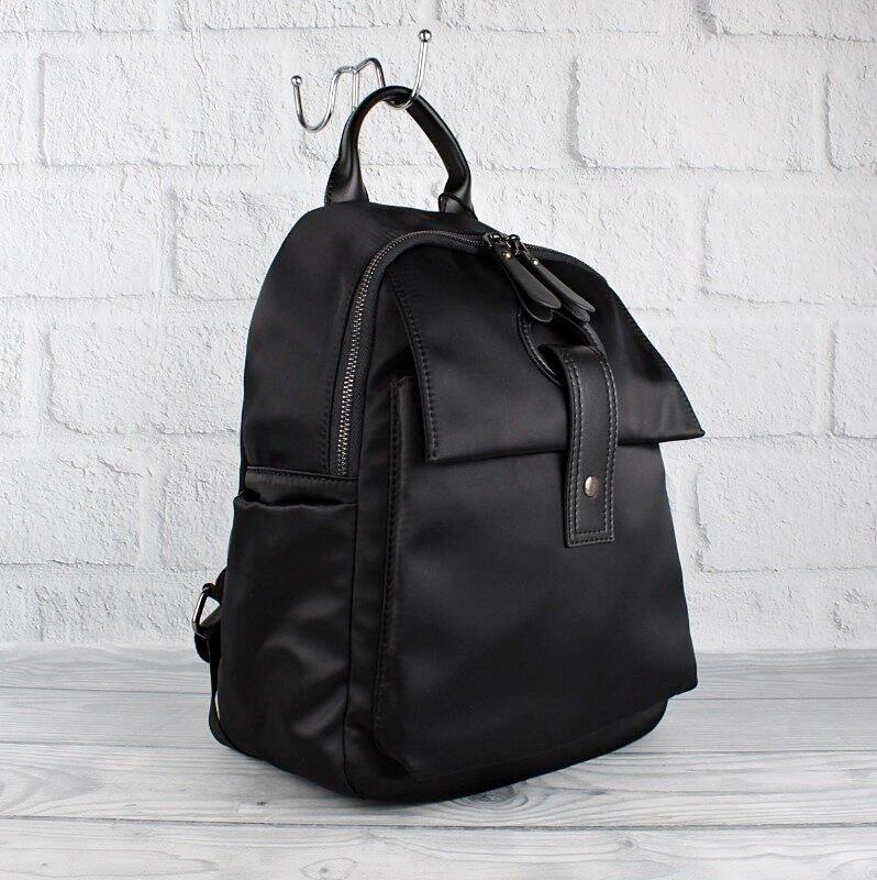 Рюкзак городской текстильный черный Prada 8064