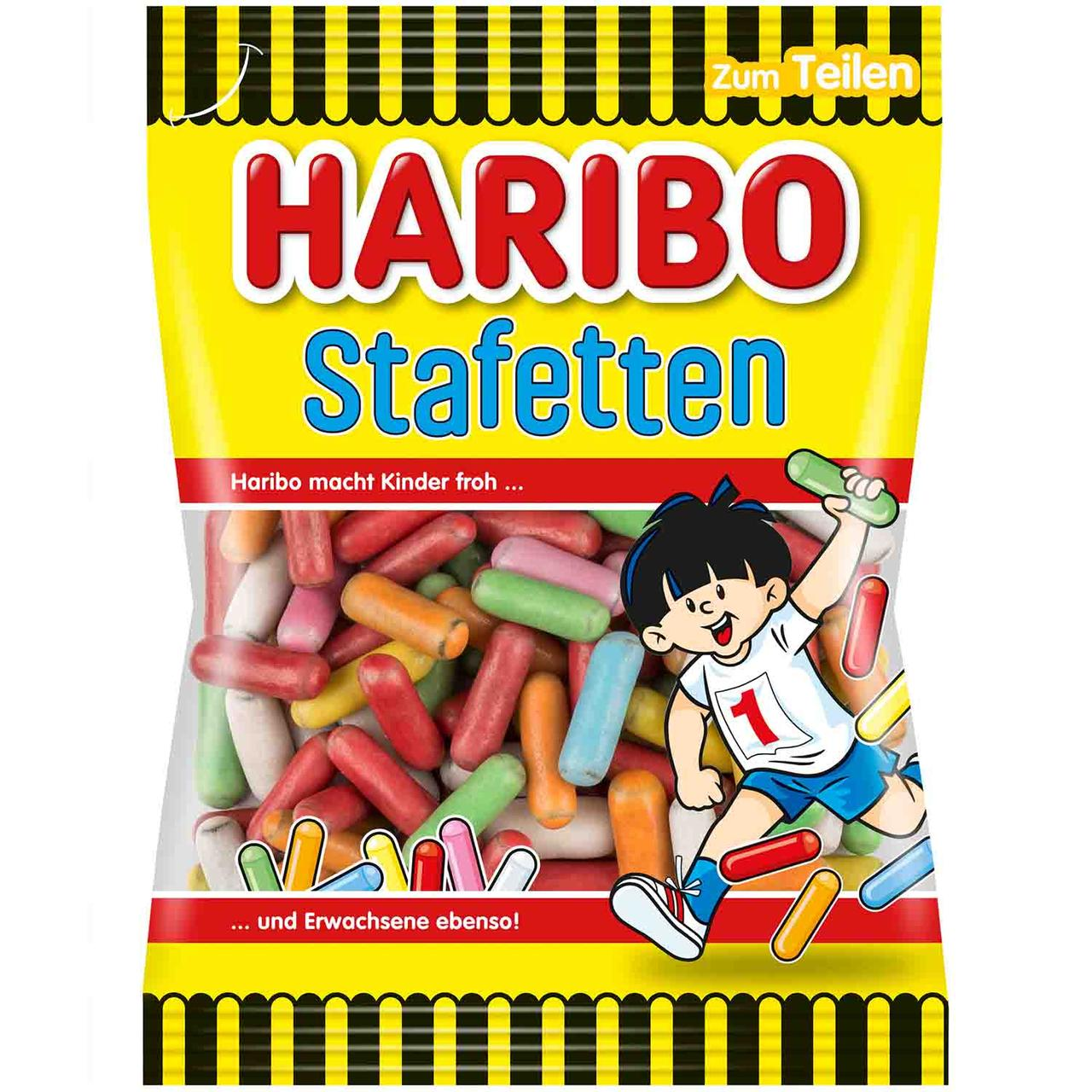 Желейные конфеты Haribo Stafetten Lakritz 175 g