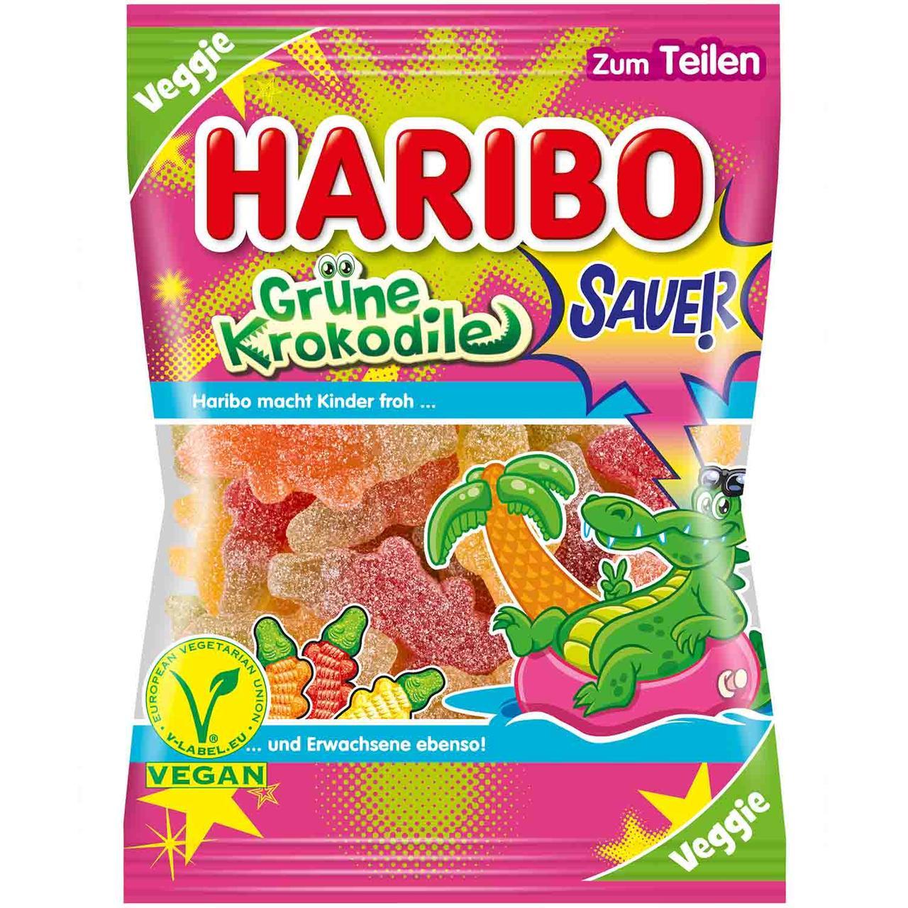 Желейные конфеты Haribo Sauer Krokodile 200 g