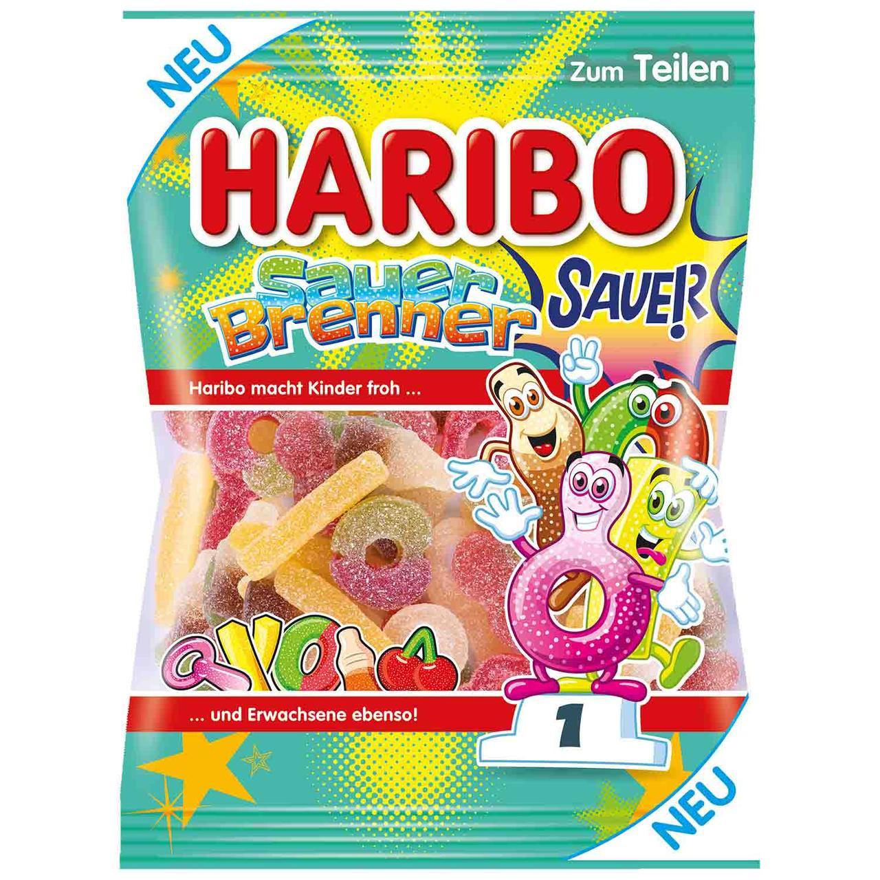 Желейні цукерки Haribo Sauer Brenner 175 g
