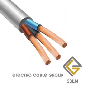 Провод медный ПВС 3х1 (ЗЗЦМ)