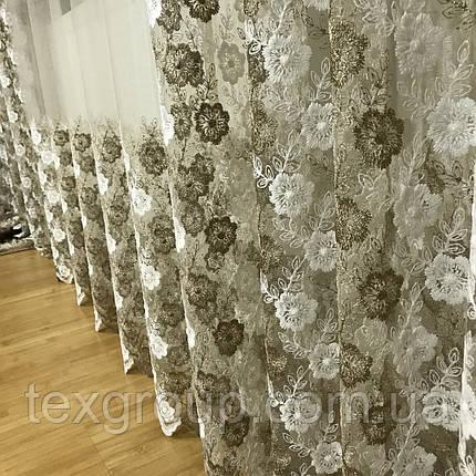 Тюль шторы компаньоны фатиноные, фото 2