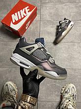 Nike Air Jordan 4 Fossil (Фіолетовий)