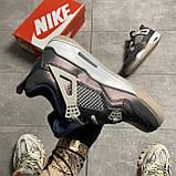 Nike Air Jordan 4 Fossil (Фиолетовый), фото 3