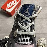 Nike Air Jordan 4 Fossil (Фиолетовый), фото 4