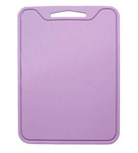 Разделочная доска силиконовая универсальная 29х21,5х0,4 см Розовый (n-806)