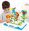 Детский пластмассовый конструктор для мальчиков Creative Mosaic 237 деталей, с шуруповертом, болтами и гайками