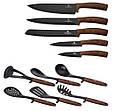 Набор ножей Berlinger Haus Ebony ROSEWOOD Collection 6255-BH, фото 2