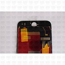 """Дисплей iPhone 8 (4,7"""") Black, оригінал з рамкою (відновлене скло), фото 3"""