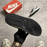 Nike Air Jordan 1 Low Grey White (Сірий), фото 5
