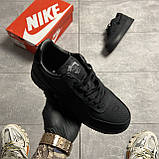 Nike Air Force 1 Low Stussy Black (Черный), фото 2