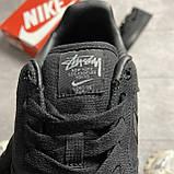 Nike Air Force 1 Low Stussy Black (Черный), фото 5