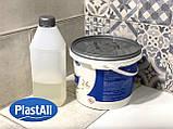 Жидкий акрил для реставрации ванны Пластол Титан (Plastall Titan) 1.5м (2,9 кг) Оригинал, фото 2