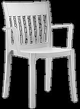 Кресло Papatya Eden-K светло-серое