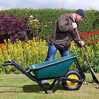 Сезонное обслуживание садовых тачек
