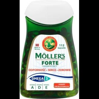 Рыбий жир в капсулах Forte Moller's, 112 шт