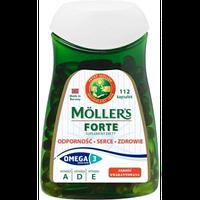 Рыбий жир в капсулах Forte Moller's, 112шт.