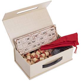 Лото в цветной картонной коробке серебро IG-8820
