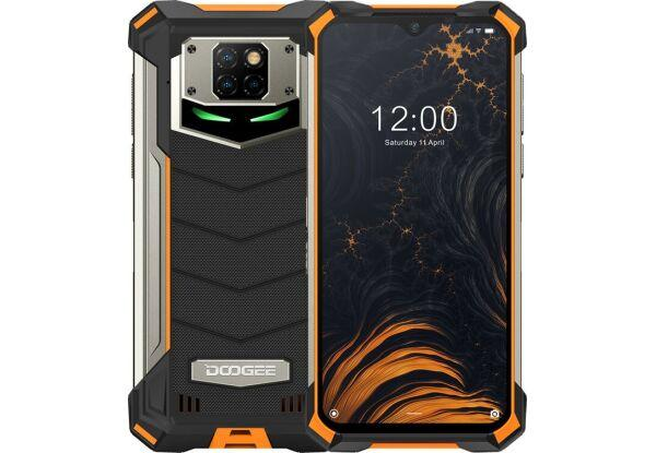 Захищений смартфон Doogee S88 plus 8/128GB Orange Helio P70 10000 маг
