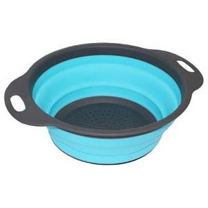 Дуршлаг складной силиконовый Willinger 20 см Синий (300320)