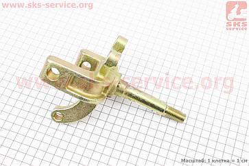 Цапфа (поворотний кулак) ATV 50-125 правий (вісь 17мм), тип. 3