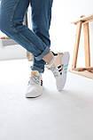 Женские высокие кроссовки Adidas EQT Bask Adv Адидас Ект Баск Белые, фото 6