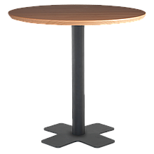 База столу Oxo 45x45x73 см чорна Papatya