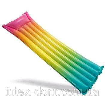 Надувной матрас Intex 58721 «Радуга» (170 х 53 х 15 см)