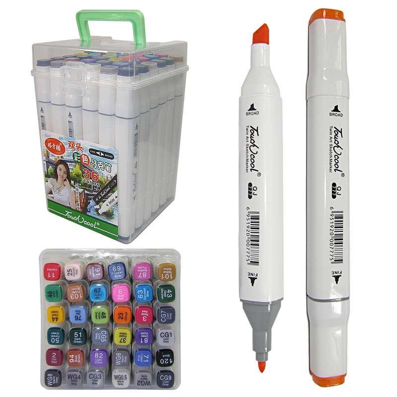 Скетч-маркери - Двосторонні в наборі, 777-36, 36 кольорів