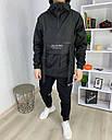 Анорак мужской черный от брнеда ТУР Кадзима размер: S, M, L, XL, XXL, фото 2
