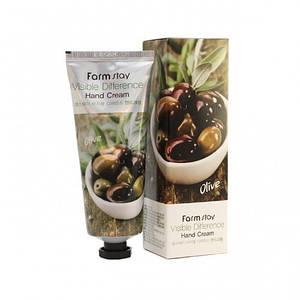 Крем для рук с экстрактом оливы FarmStay Visible Difference Hand Cream Olive, 100 мл